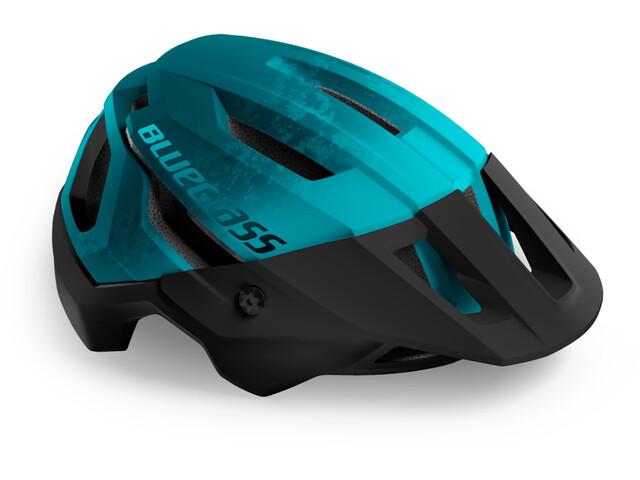 bluegrass Rogue Helmet, Azul petróleo/azul